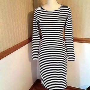 Shabby Apple blue and white striped dress NWT sz S